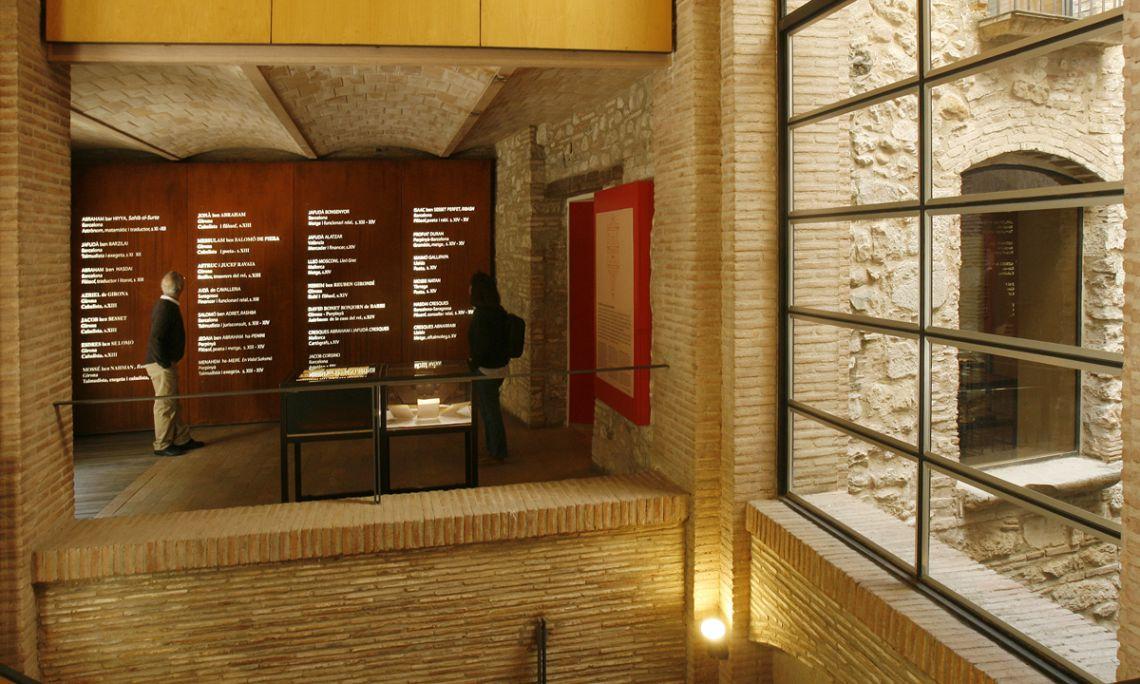Sala dedicada a l'herència cultural jueva.