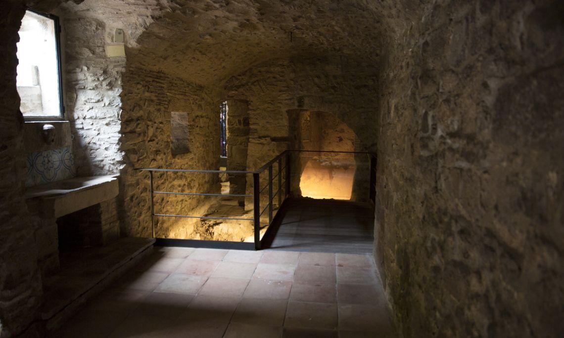 Espai interpretatiu del micvé del segle XV.