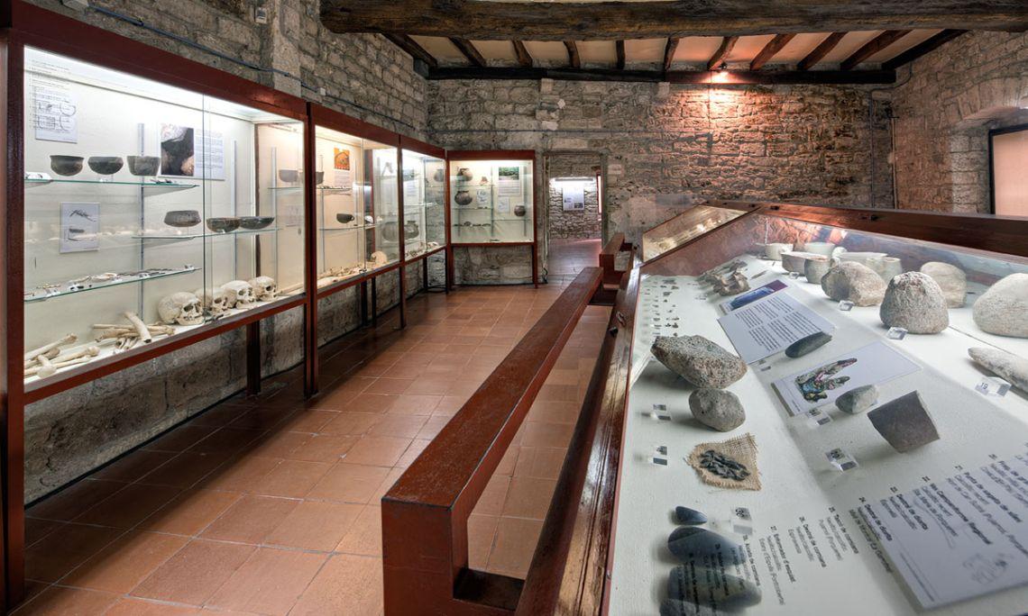 La sala de Neolític (Arqueoxarxa, Josep Casanova)