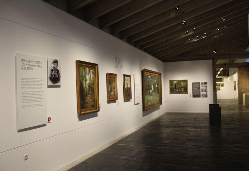 Espacio dedicado al pintor Joaquim Vayreda. Foto: Blai Farran.