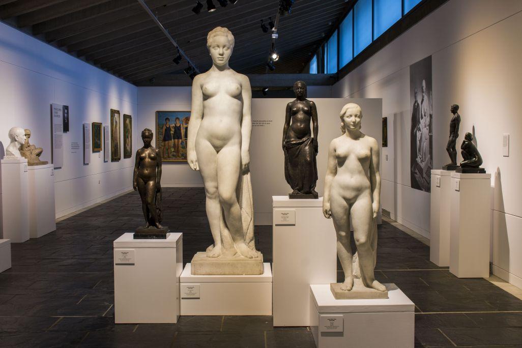 Espai dedicat a l'escultor Josep Clarà. Foto: Blai Farran.