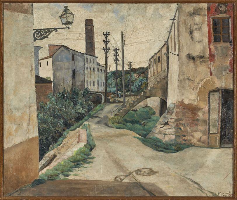 Torrent de Farigola,Jaume Mercadé Queralt(Valls, 1889 – Barcelona, 1967), 1923. Oli sobre tela. Museu de Valls.