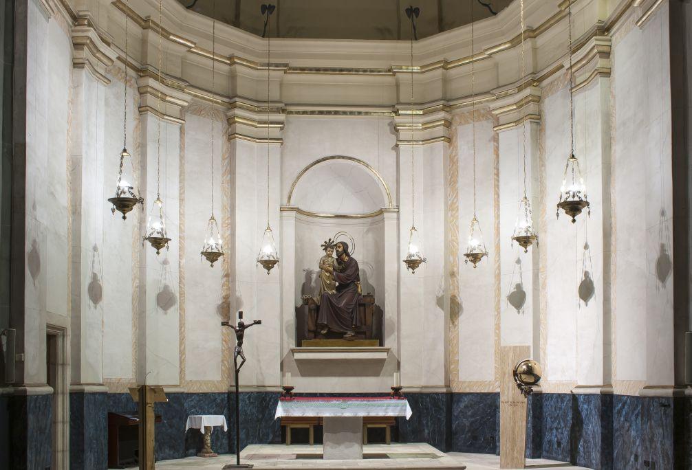 Fotografia de la Capella de Sant Josep. Autor: Ramon Manent