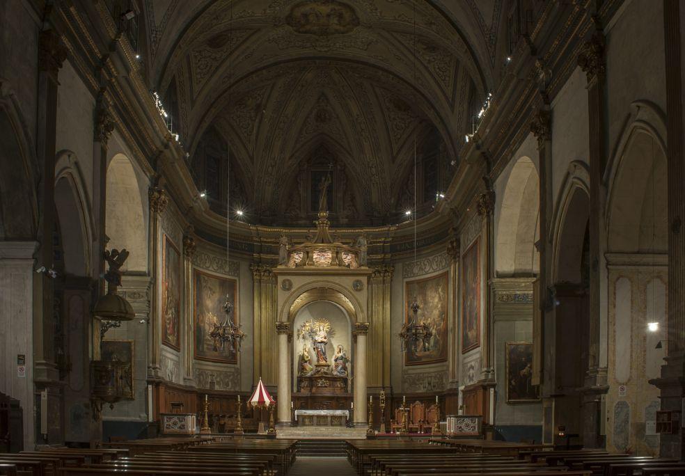 Fotografia del presbiteri. Autor: Ramon Manent