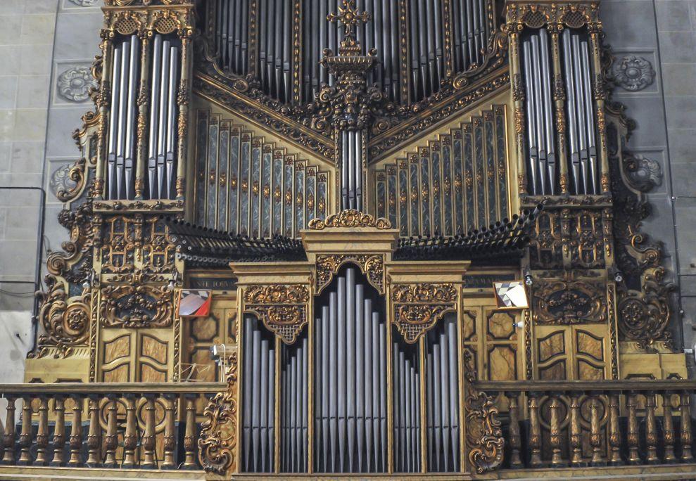 Fotografía del órgano monumental. Autor: Ramon Manent
