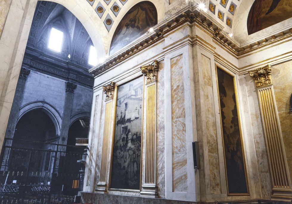 Photographie de la Chapelle des Saintes. Auteur: Ramon Manent