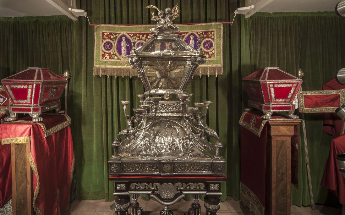 Fotografia de la Secció museística de les Santes. Autor: Ramon Manent