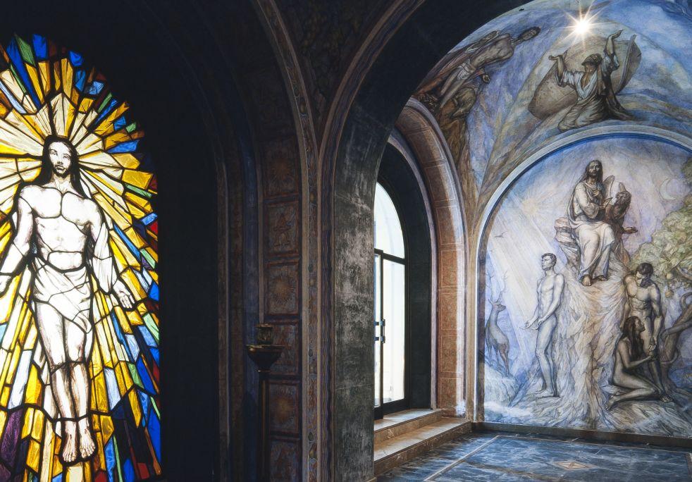 Fotografía del baptisterio. Autor: Ramon Manent