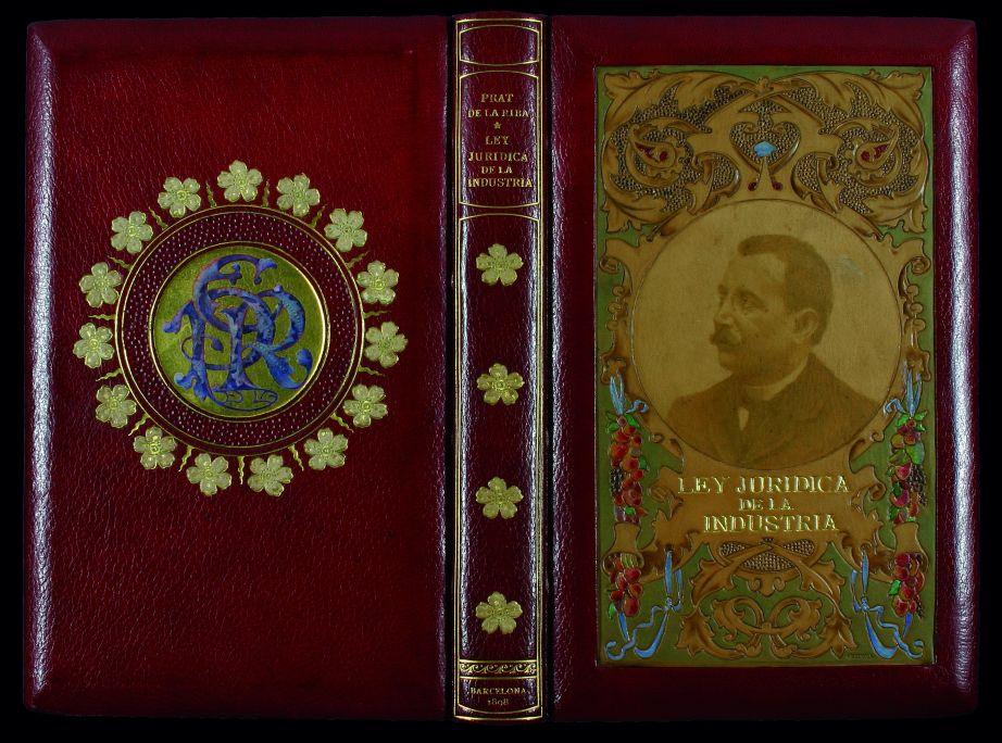 Enric Prat de la Riba i Sarrà Ley jurídica de la industria,1898. Biblioteca de Catalunya, Barcelona