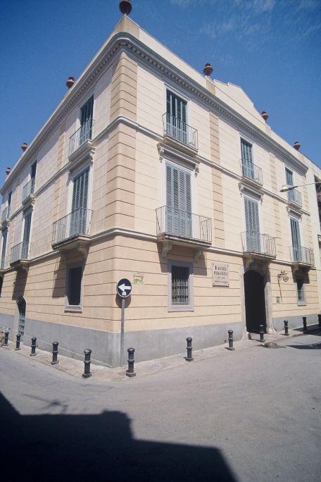 Façana del Museu Romàntic