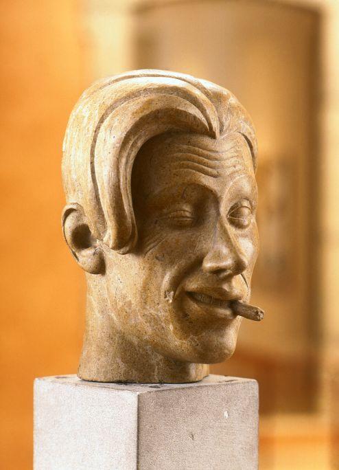 Self-portrait, Salvador Martorell, c. 1930.