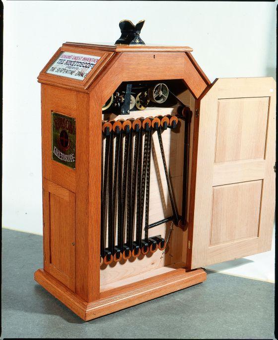 Kinetoscope, T. A. Edison, reproduction