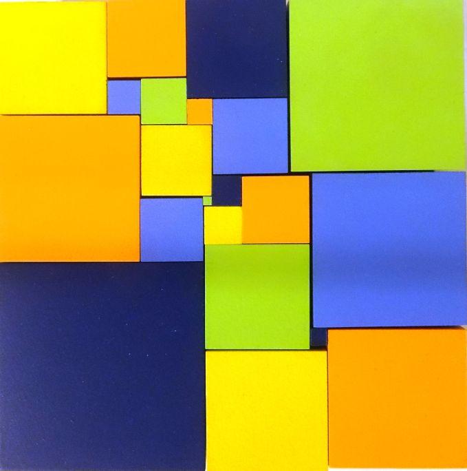 Trencaclosques que amaga un enigma matemàtic: la quadratura perfecte del quadrat. Foto: © MJC