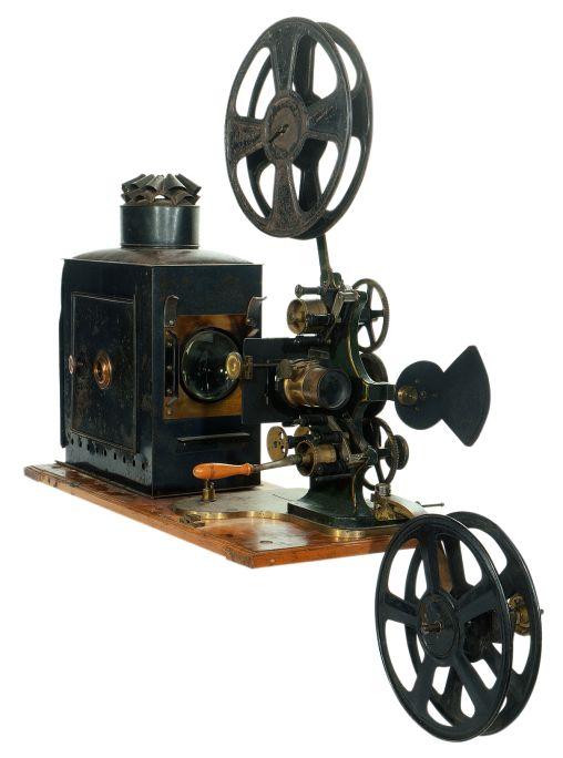 Projector cinematogràfic de marca desconeguda (Gran Bretanya, ca. 1897)