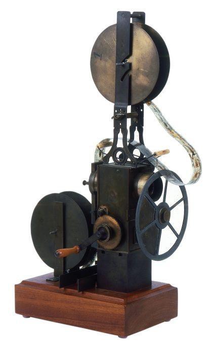 Projector cinematogràfic Le Cinépar, França, c. 1898