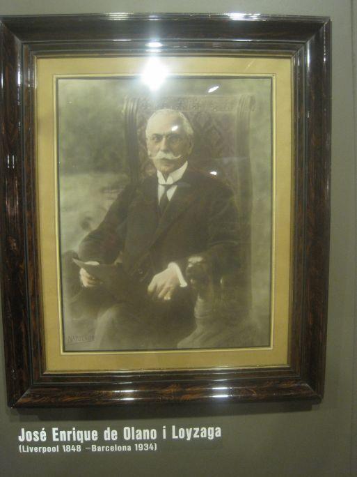 Fotografia de José Enrique de Olano y Loyzaga, comte de Fígols