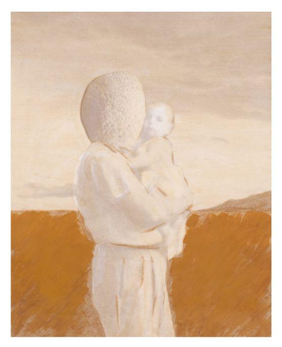 Àngel Jové i Jové 1984 Pintura acrílica sobre papel de impresión