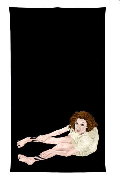 Marina Núñez 1997 Oli sobre tela