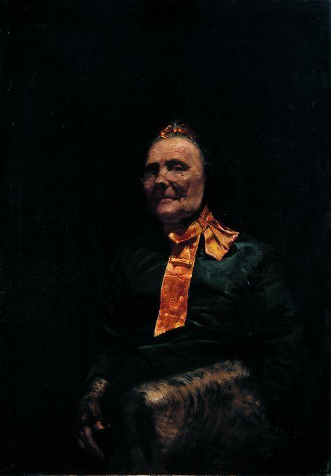 Inv.: 501. Josep Domènech Samaranch, Toujours Frou-Frou, s.d. Óleo s. tela, 110 x 78 cm.