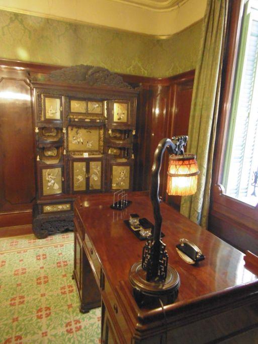 The office of Francesc Alegre i Roig. Photo: Terrassa Museum