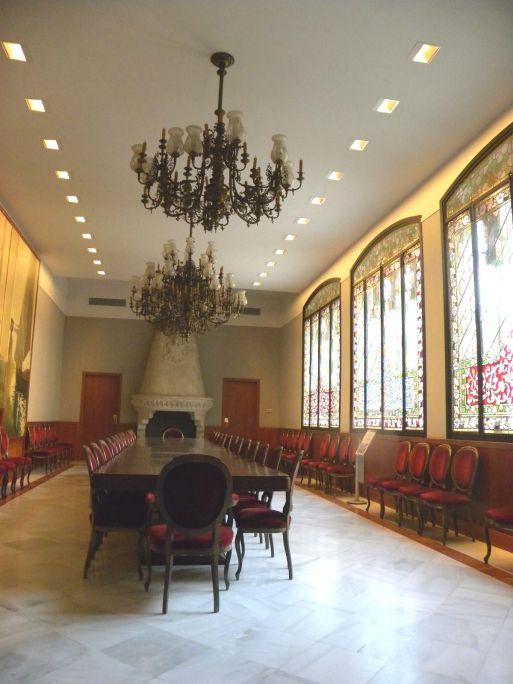 Dining room of Casa Alegre de Sagrera. Photo: Terrassa Museum