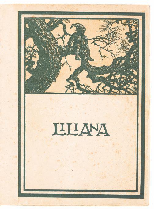 Liliana. Poema. Oliva: Vilanova & Geltrú, 1907