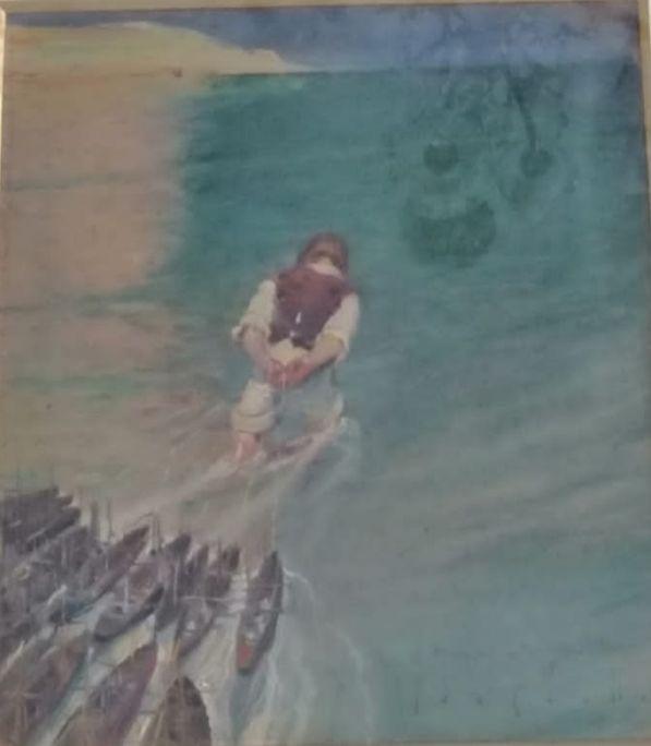 Gulliver II 1922 Pintura a l'oli sobre taula Col·lecció particular
