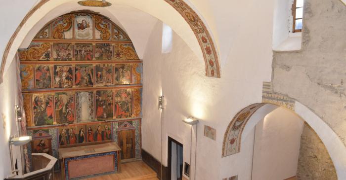 <p>Els darrers treballs de restauraci&oacute; ofereixen una visi&oacute; renovada de l&rsquo;esgl&eacute;sia.</p>