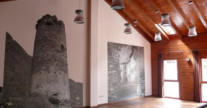 <p>Interior del Centre d&rsquo;Interpretaci&oacute;</p>