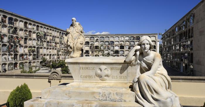 <p>Cementerio de Arenys de Mar. Foto: David Casta&ntilde;eda</p>