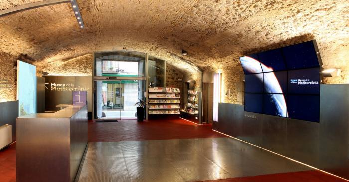 <p>Museo del Mediterráneo. Recepción</p>