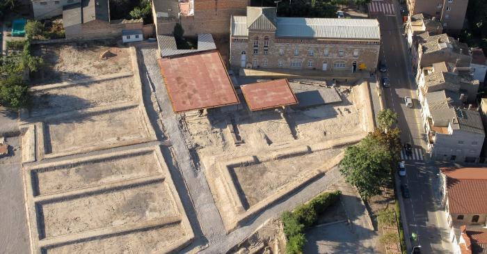 <p>El Museo de Guissona esta ubicado al lado del parque arqueol&oacute;gico de la ciudad romana de Iesso.</p>