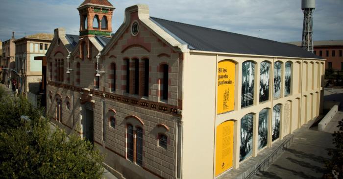 <p>El Museu del Suro de Palafrugell se situa a l'antiga fàbrica modernista de Can Mario. Arxiu d'Imatges Museu del Suro de Palafrugell.</p>