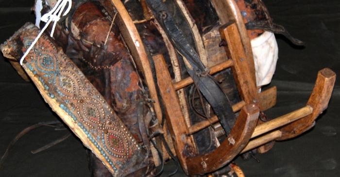 <p>Pack saddle.</p>