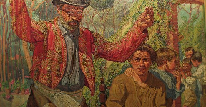 <p><em>Un borracho</em>, Josep de Togores i Llach, 1910-1911, Cerdanyola del Vall&egrave;s, &oacute;leo sobre tela</p>