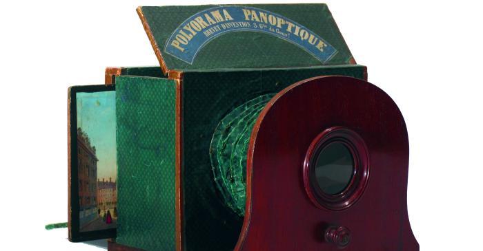 <p>Polyorama Panoptique, P. H. A. Lefort, Fran&ccedil;a, despr&eacute;s del 1850</p>