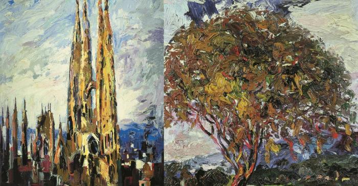 <p><em>The sagrada fam&iacute;lia</em> (1967), <em>The Holm Oak</em> (1969)</p>