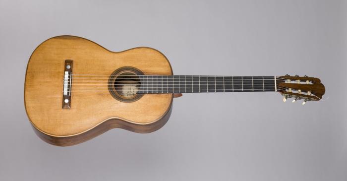 <p>Guitarra Antonio de Torres Jurado (S&eacute;ville), 1859. &copy; Rafael Vargas</p>