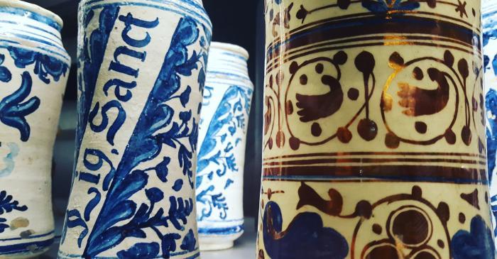 Pharmacist's jars