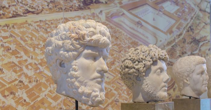 <p>Portrait de l&rsquo;empereur Lucius Verus</p>