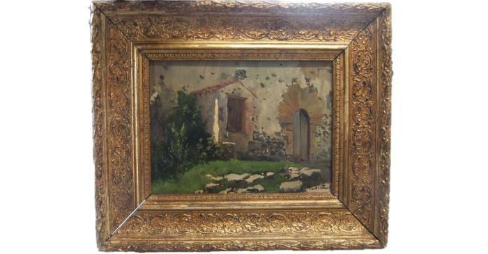 Portal d'una masia