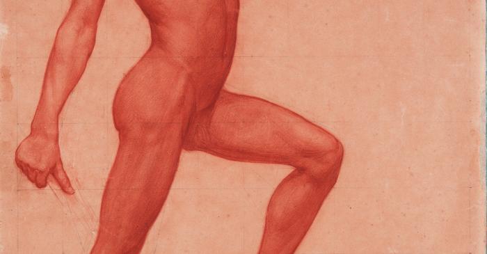 <p>Inv.: 2099. Josep Dom&egrave;nech Samaranch, Acad&egrave;mia, Par&iacute;s, 1896. Llapis i carb&oacute; s. paper Ingres, 61x48 cm.</p>