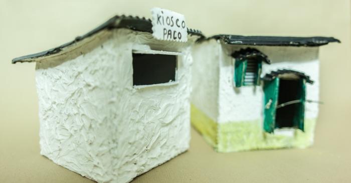 <p><em>Maquette du Camp de la Bota, </em>Collection Mus&eacute;e d&rsquo;histoire de l&rsquo;immigration de Catalogne.</p>