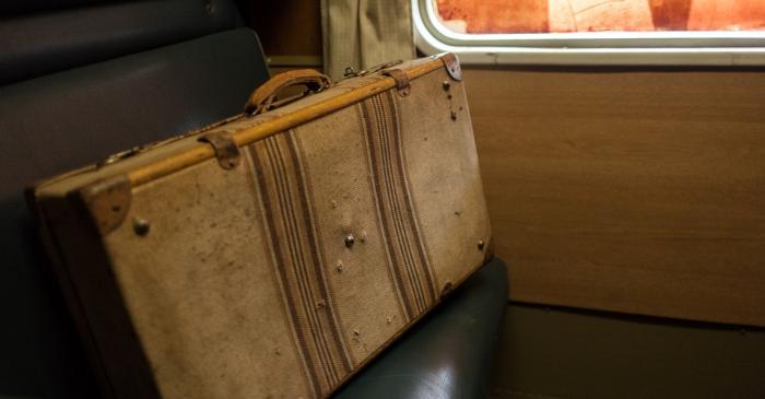 <p><em>Valise, </em>Collection Mus&eacute;e d&rsquo;histoire de l&rsquo;immigration de Catalogne</p>