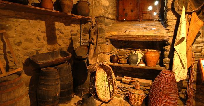 <p>La despensa de la Casa Gassia era un espacio ideal para la conservaci&oacute;n de alimentos.</p>