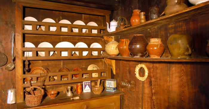 <p>El espacio donde se concentraba buena parte de la actividad de la casa era la cocina.</p>