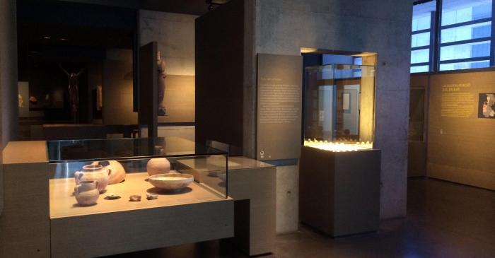 <p>Gent de frontera, un dels &agrave;mbits de l&rsquo;exposici&oacute; permanent del Museu de Lleida.</p>
