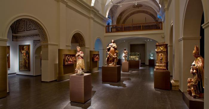 <p>L&rsquo;esgl&eacute;sia del monestir de Sant Josep acull els fons art&iacute;stics d&rsquo;&egrave;poca moderna (segles XVI- XVIII).</p>