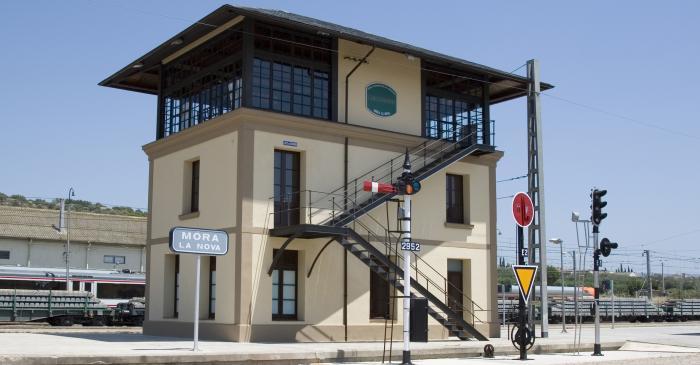 <p>Edifici de l'enclavament, restaurat i muse&iuml;tzat per voluntaris de l'entitat.</p>