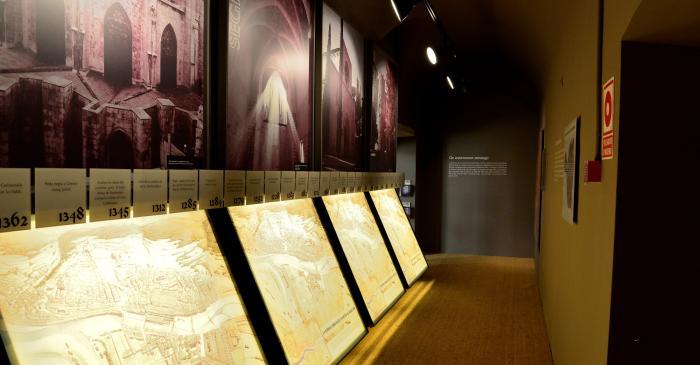 <p>(Detalle) Entre los siglos XII&nbsp;y XIV Girona multiplic&oacute; por cuatro su superficie urbana.</p>